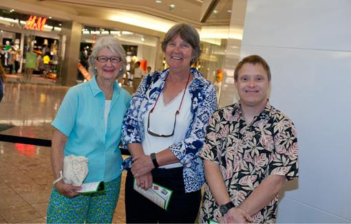 Ann Baldwin, Mary Pankiewicz, Tommy Baldwin