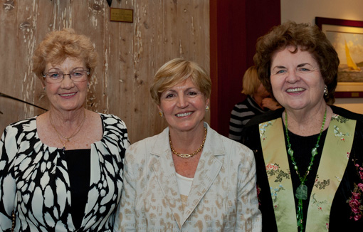 Carol Brummett, Maria Mamlouk, Nan Gallagher