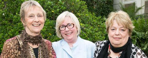 Caroline Seebohm, Lane Byrd, Edith Haney