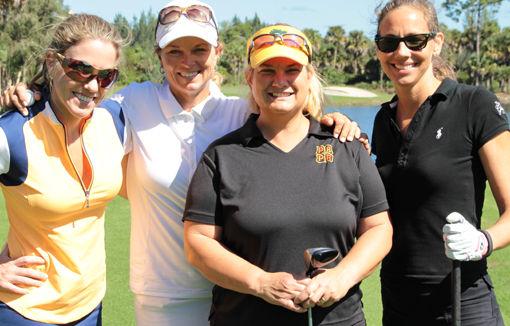 Carolyn Broadhead, Kellie Stenzel, Rebecca Seelig, Catherine Broadhead