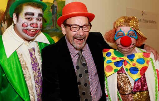 Circus Clown, Bruce Helander, Gregg Halmos