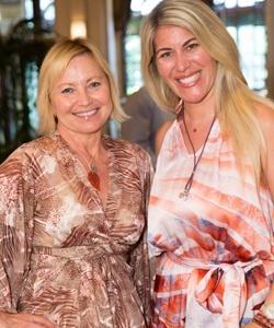 Debra LeVasseur and Caryna Nina
