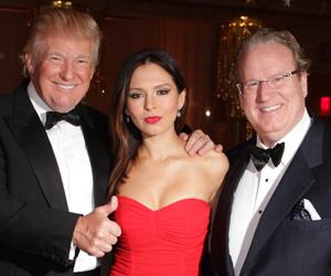 Donald Trump, Lola Astanova, Patrick Park