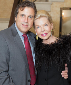 Dr. Robert Mackler and Lois Pope