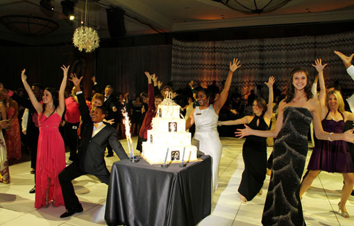 'Flash-mob'-at-Kravis-Center-20th-anniversary-celebration