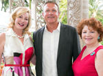 Frances Fisher, Paul Milsom and Cynthia Palmieri-
