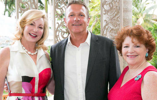 Frances Fisher, Paul Milsom and Cynthia Palmieri