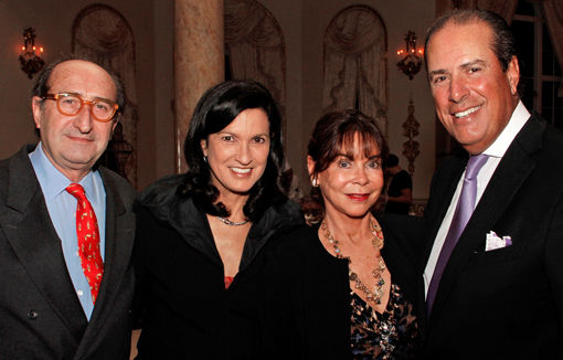 Gerard Boudry and Margareth Henriquez, Cindy and Ted Mandes