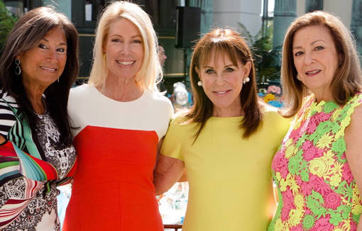 Shelley Golden, Fern Fodiman, Andrea Stark and Judy Snyder