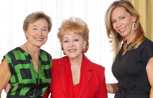 Jean Meisenzahl, Debbie Reynolds, Patti Travis