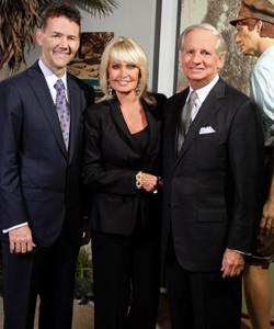 Jeff Sabean, Sonja and Mark Stevens