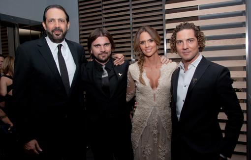 Juan Luis Guerra, Juanes Martinez, Karen Martinez, David Bisbal
