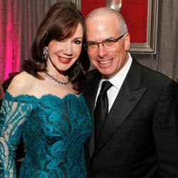 Laurie Silvers and Mitchell Rubenstein
