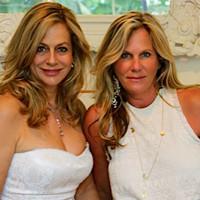 Lavinia Baker and Mary Baker