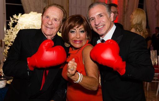 Leslie and Patsy Spero, Ray Mancini