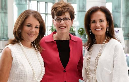 Lori Gendelman, Dr. Judith Reichman and Eddy Taylor