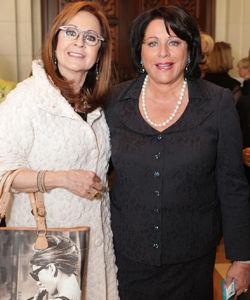 Lynda Levitsky and Anneliese Langner