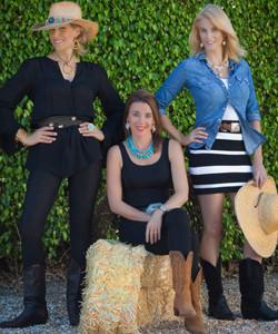Stephanie Kantis, Michelle Boren, Francie Leidy Mackay