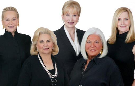 Susan Keenan, Lee Callahan, Betsy Meany, Susan Telesco, Norma Tiefel