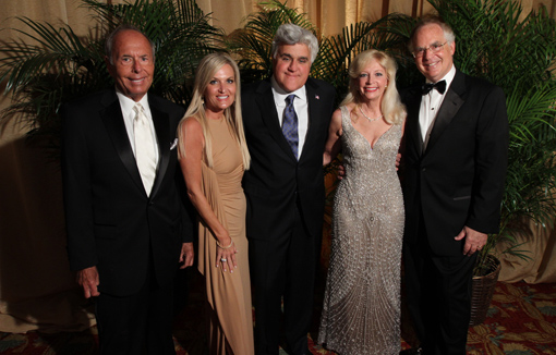 Tom Feltenstein, Cindy Feltenstein, Jay Leno, Janet Levy, Mark Levy