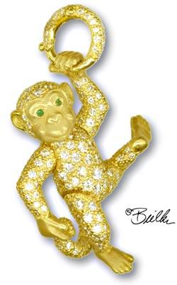 Bielka Diamond Monkey